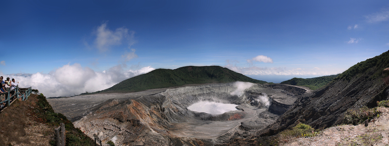 Overview of Active Poas Volcano