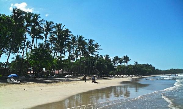 Beach at Tamarindo