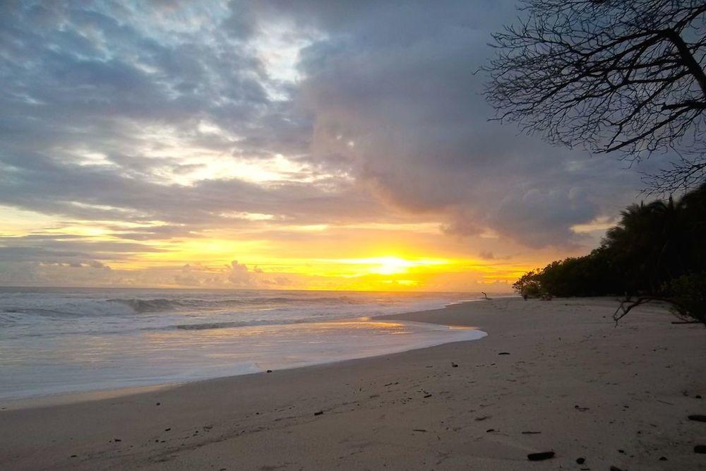 Santa Teresa Costa Rica Beach Sunset